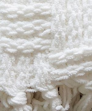 Home Soft Things Cable Knitted Throw Couch Cover Blanket 50 X 60 Antique White 0 0 300x360