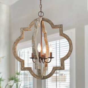 Howle+4+-+Light+Candle+Style+Geometric+Chandelier