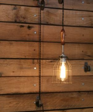 Industrial Wall SconcePulley Wall Light Pendant With Easy Height Adjustment To Get The Light Exactly Where You Want It 0 0 300x360