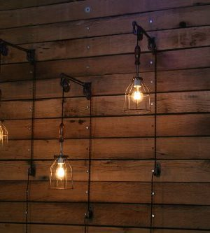 Industrial Wall SconcePulley Wall Light Pendant With Easy Height Adjustment To Get The Light Exactly Where You Want It 0 4 300x333
