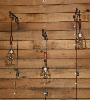 Industrial Wall SconcePulley Wall Light Pendant With Easy Height Adjustment To Get The Light Exactly Where You Want It 0 5 300x333
