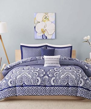 Intelligent Design ID10 366 Comforter Set TwinTwin XL Blue 0 300x360
