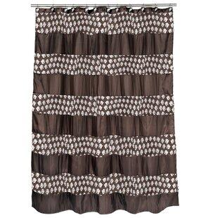 Irie+Striped+Single+Shower+Curtain