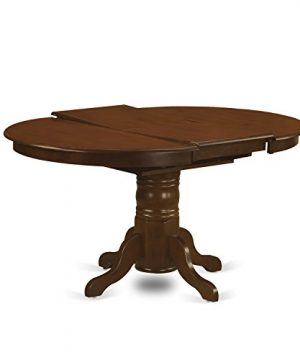 KEVA5 ESP W 5 Pc Set Kenley Dining Table With A Leaf And 4 Wood Kitchen Chairs 0 0 300x360