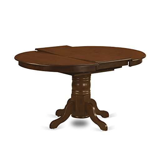 KEVA5 ESP W 5 Pc Set Kenley Dining Table With A Leaf And 4 Wood Kitchen Chairs 0 0