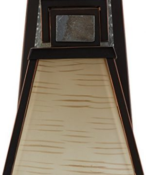 Kenroy Home 91601ORB Clean Slate 1 Light Sconce Oil Rubbed Bronze With Natural Slate 0 1 300x360