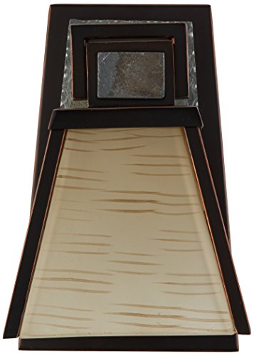 Kenroy Home 91601ORB Clean Slate 1 Light Sconce Oil Rubbed Bronze With Natural Slate 0 1
