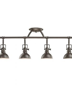 Kichler 7704OZ Rail Light 4 Light Halogen Olde Bronze 0 300x360