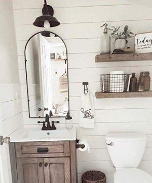 LNC Wall SconceFarmhouse Barn Gooseneck Light FixtureAntique Brass And Black Matte Finish For Bedroom Bathroom A0224101 0 2 300x360