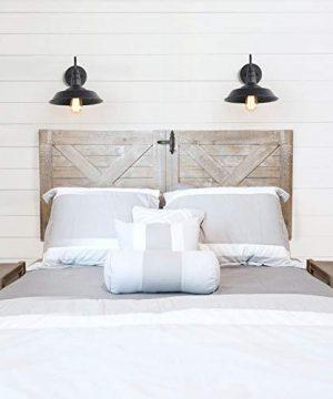 LNC Wall SconceFarmhouse Barn Gooseneck Light FixtureAntique Brass And Black Matte Finish For Bedroom Bathroom A0224101 0 3 300x360