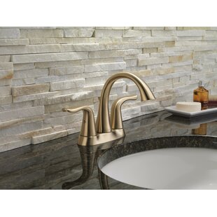 Lahara+Centerset+Bathroom+Faucet+with+Drain+Assembly+and+Diamond+Seal+Technology