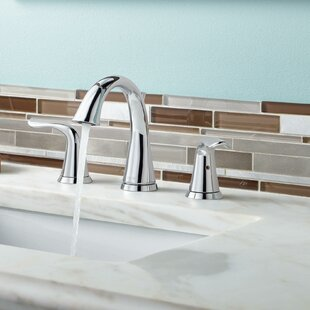 Lahara+Widespread+Bathroom+Faucet+with+Drain+Assembly+and+Diamond+Seal+Technology