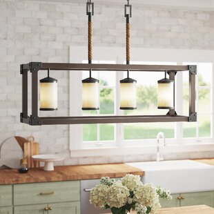 Leitha+4-Light+Kitchen+Island+Linear+Pendant