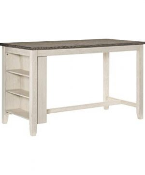 Lexicon 60 X 30 Counter Height Dining Table Antique White 0 300x360