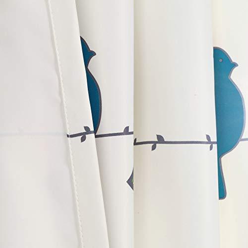 Lush Decor Rowley Birds Curtains Room Darkening Window Panel Set For Living Dining Bedroom Pair 84 L Multi 0 2