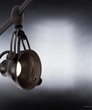 Luxury Modern Track Light 115H X 108L With Industrial Style Elements Estate Bronze Finish UQL3010 From The Perth Collection By Urban Ambiance 0 1 300x360