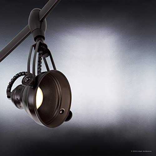 Luxury Modern Track Light 115H X 108L With Industrial Style Elements Estate Bronze Finish UQL3010 From The Perth Collection By Urban Ambiance 0 1