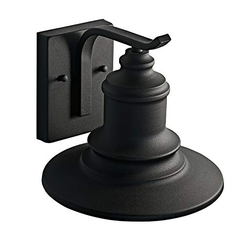 MOTINI 1Light Outdoor Wall Sconce Barn Light Fixture Farmhouse Vintage Style Wall Light With Black FinishETL Listed 0 3