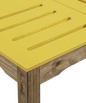 Manhattan Comfort Stillwell Dining Table Yellow 0 2 300x360
