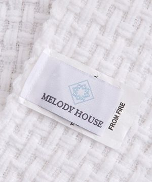 Melody House Super Soft Woven Plaid Pattern Throw Decorative Throw Blanket With Tassels 50x60 Bright White 0 2 300x360