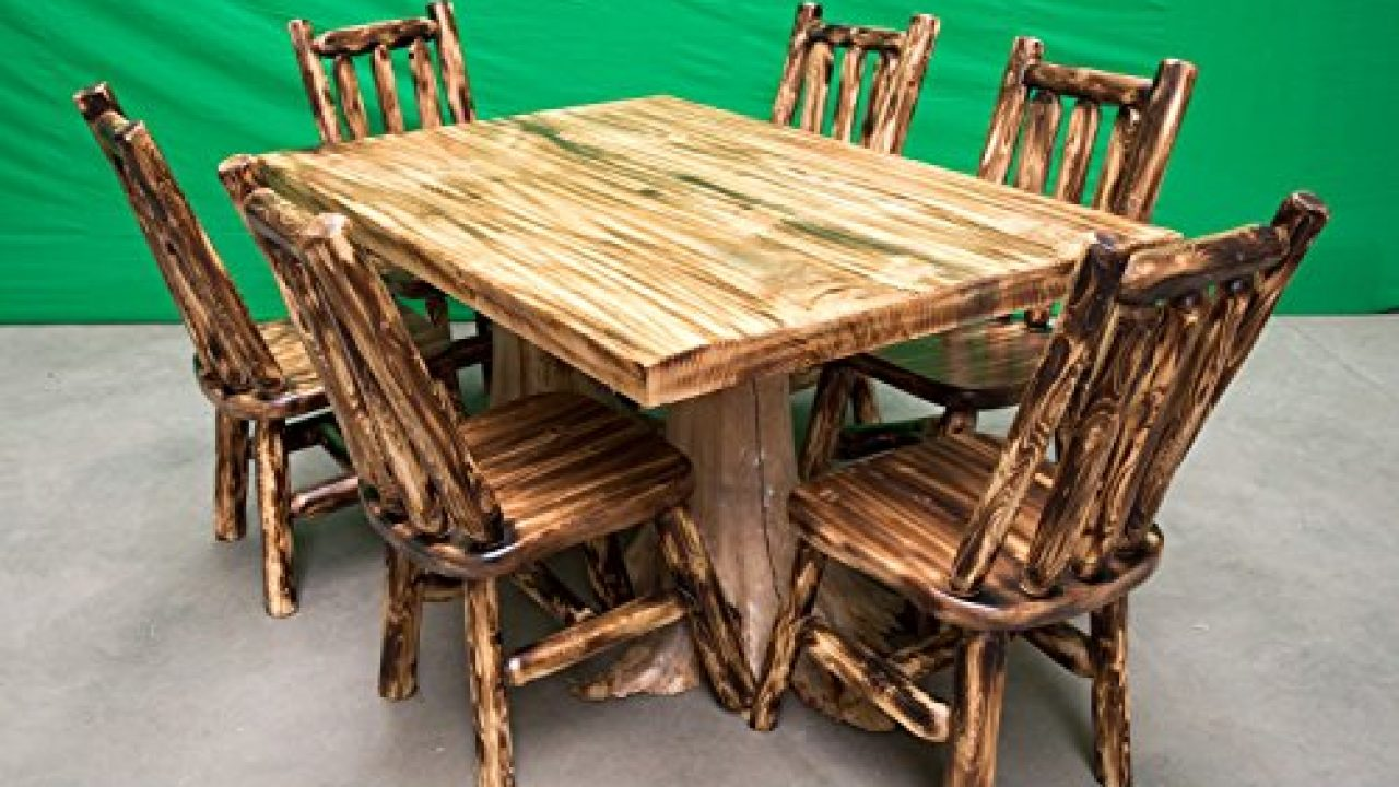 5pc Queen Torched Log Bedroom Suite Midwest Log Furniture Bedroom Sets Home Kitchen Kanakadurgamma Org