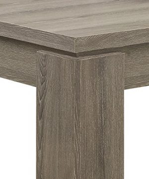 Monarch Specialties Dining Table Dark Taupe Reclaimed Look 60L 0 3 300x360