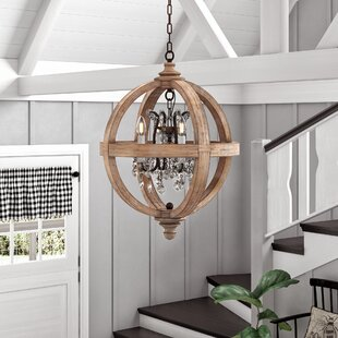 Montecito+4-Light+Candle+Style+Globe+Chandelier