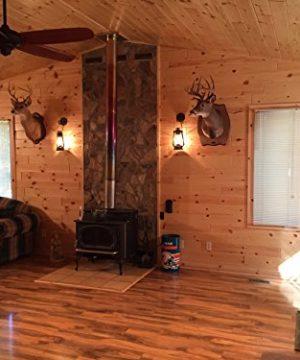 Muskoka Lifestyle Products Rustic Lantern Wall Mounted Light Large Rustic 0 2 300x360