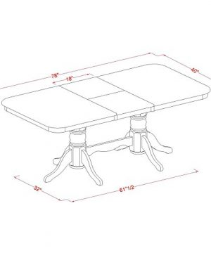 NAPL9 SBR W 9 Pcformal Dining Room Set Dining Table And 8 Dining Chairs 0 3 300x360