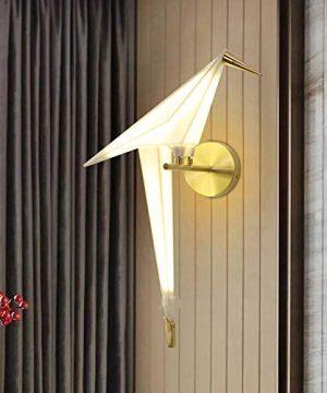 NIUYAO Vivid Bird Wall Lamp Retro Antique Wall Mount Fixture Stylish Bird Wall Sconces Wall Lighting Modern Plastic Small Wall Light 1 Light 495725 0 2 300x360