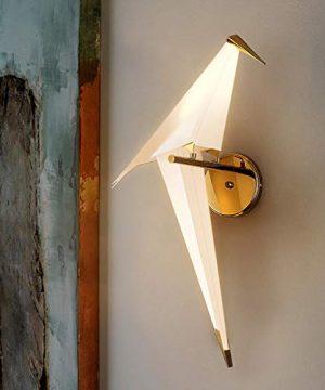 NIUYAO Vivid Bird Wall Lamp Retro Antique Wall Mount Fixture Stylish Bird Wall Sconces Wall Lighting Modern Plastic Small Wall Light 1 Light 495725 0 300x360