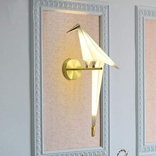 NIUYAO Vivid Bird Wall Lamp Retro Antique Wall Mount Fixture Stylish Bird Wall Sconces Wall Lighting Modern Plastic Small Wall Light 1 Light 495725 0 4