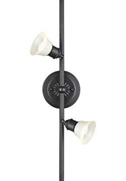 NOMA LED Track Lighting Adjustable Ceiling Light Fixture Perfect For Kitchen Hallway Living Room Bedroom Cream Bronze 4 Light 0 0 250x360