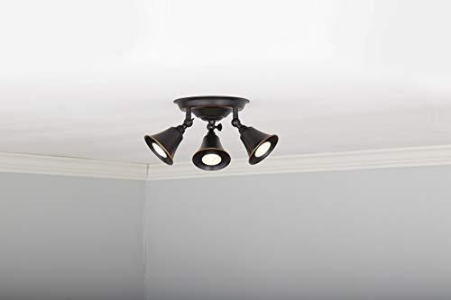Noma Track Lighting Adjustable Semi Flush Mount Ceiling Light Fixture Perfect For Kitchen Hallway Living Room Farmhouse Goals