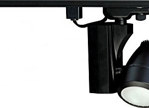 Nuvo Lighting TH386 One Light Track Head Black 0 300x218