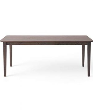 Odelia Rectangular 8 Seat Farmhouse Dining Table Gray Finish 0 300x360