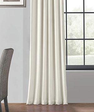 PDCH KBS2BO 84 Blackout Vintage Textured Faux Dupioni Curtain Off White 50 X 84 0 3 300x360