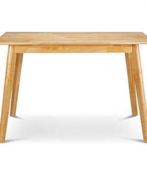 PJ Wood Kitchen Dining Table Natural 0 300x360