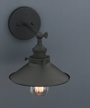 Phansthy Industrial Wall Sconce Light 787 Inches Vintage Style 1 Light Sconce Light Shade 0 1 300x360