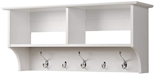Prepac Hanging Entryway Shelf 36 Inches White 0 2