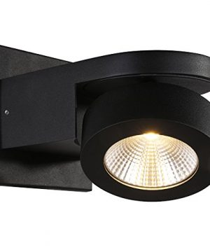 RUNNLY LED Wall Sconce Light Track Spot Black Lighting With Cree Chip 10W Directional For Reading Staircase Hallway Office Commercial 0 300x360