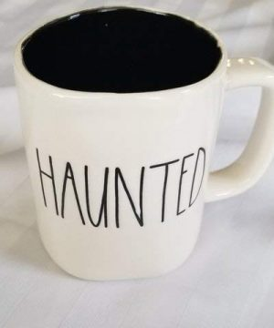 Rae Dunn Artisan Collection HAUNTED Halloween Mug 0 300x360
