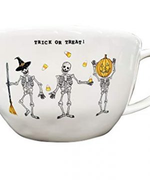 Rae Dunn Artisan Collection By MagentaTrick Or Treat Halloween Bowl 0 300x360