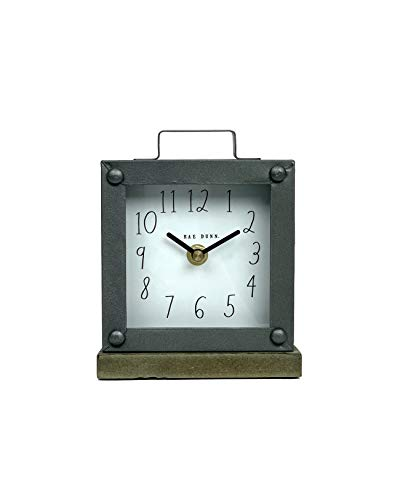 Rae Dunn Desk Clock Battery Operated