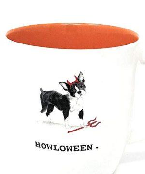 Rae Dunn Halloween Dog Mug 0 300x360