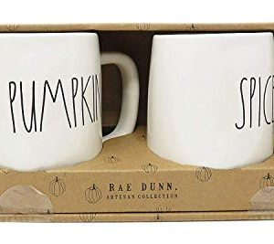Rae Dunn PUMKIN SPICE By Magenta Mug Set 0 300x267