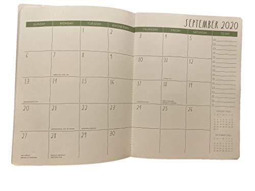 Rae Dunn Spiral Bound Planner January 2020 December 2020 Full Calendar Year Monthly Planner Planner 0 2