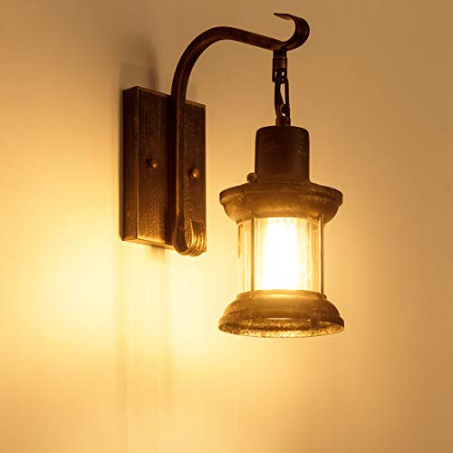 Rustic Wall Light Fixtures Oil Rubbed