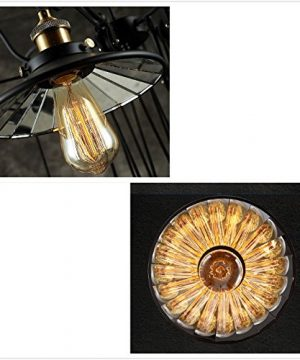 SUSUO Lighting Industrial Look Scissor Extendable Accordion Wall Sconces Loft Style Iron Art Wall Lamp 0 4 300x360