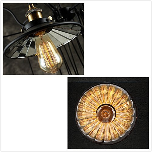 SUSUO Lighting Industrial Look Scissor Extendable Accordion Wall Sconces Loft Style Iron Art Wall Lamp 0 4